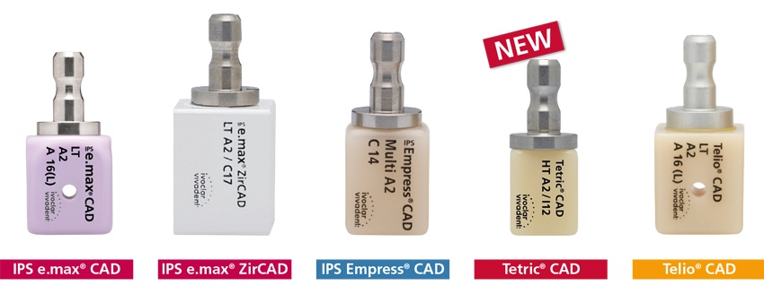 Tetric CAD is an esthetic composite block that ensures the efficient fabrication of single tooth restorations.