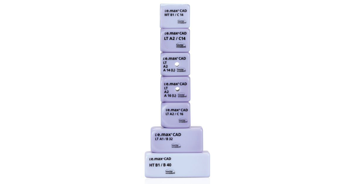 Debido a su elevada resistencia a la flexión y rotura, el disilicato de litio IPS e.max CAD ofrece todavía más opciones para la odontología mínimamente invasiva.