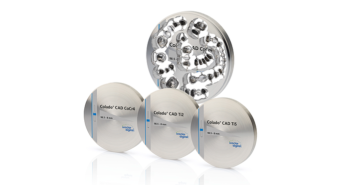Colado CAD - Versatile range of indications