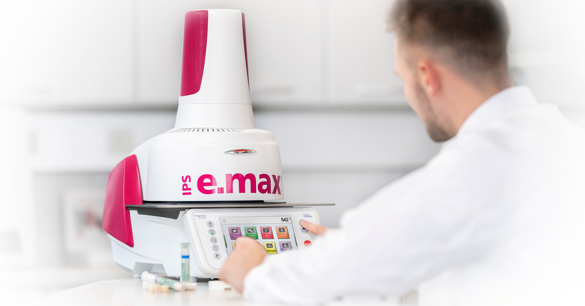 Limited special edition of the Programat press furnace in the IPS e.max look