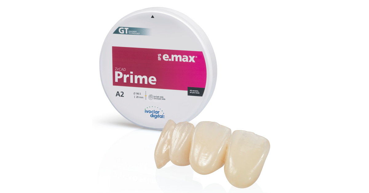 IPS e.max ZirCAD Prime: redefining all-ceramics